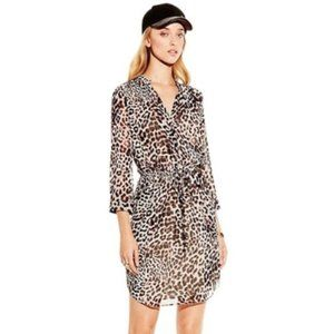 Vince Camuto Leopard Print Dress